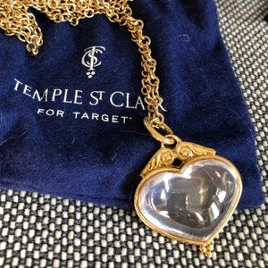 Temple St Clair for Target Heart Pendant Necklace